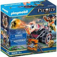 Playmobil, Pirata Com Canhão
