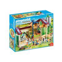 Playmobil, Fazenda Com Animais