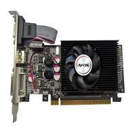 Placa De Video Afox Geforce GT610, 1GB DDR3, 64bit, Lp Single Fan, Dvi Hdmi Vga