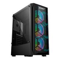Computador Gamer Fácil Intel Core I3 10100F, 8GB, GTX 1050Ti 4GB, SSD 120GB, Fonte 500W