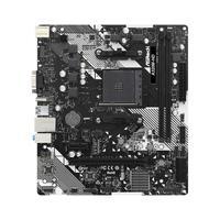 Placa Mãe Asrock A320m-hd R4.0, Chipset A320, Am4, Matx, DDR4