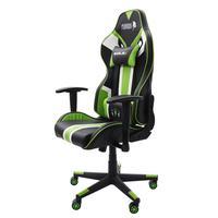 Cadeira Gamer EagleX Furious Pro Reclinável, com Braço 3D, Giratória, Verde