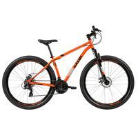 Bicicleta Mtb Caloi Two Niner Alloy Aro 29, Sunrun, 21 Velocidades, Laranja