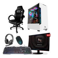 Kit - Pc Gamer Smat Pc Smt82117 Intel I5 8gb (gtx 1650 4gb) Ssd 240gb + Cadeira Gamer