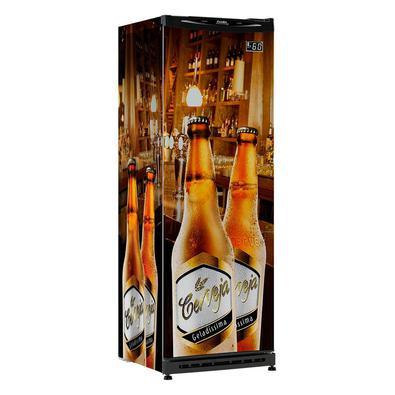 Cervejeira Vertical Esmaltec Geladíssima Cv300r  348l Adesivada 110v 110v