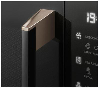 Micro-ondas De Embutir Electrolux Pro Series Com 34 Litros De Capacidade E Grill Preto - Mv43t - 220v