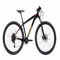 "Bicicleta Mtb Caloi Moab Aro 29 - 2021 - Shimano - Quadro 19"" - 18 Velocidades - Preto"