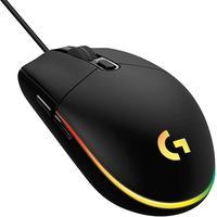 Mouse logitech gamer g203 lightsync rgb com fio usb 8.000 dpi