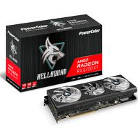 Placa De Vídeo Powercolor Hellhound Radeon Rx 6700 Xt 12gb Gddr6 - 12gbd6-3dhl