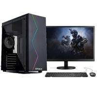 """Computador Gamer Completo Fácil Intel I5 3470s (terceira Geração) 8gb Placa De Vídeo Gt 730 2gb Hd 500gb Monitor 19"""""""