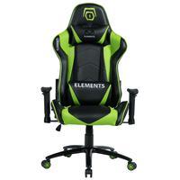 Cadeira Gamer Elements Veda Terra Verde Preta