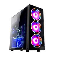 Computador Gamer Fácil Intel Core I5 3470s (terceira Geração) 8gb Gtx 1650 4gb Ssd 480gb Fonte 500w