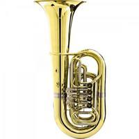 Tuba Bb 4/4 4 Rotores Hbb-200l Laqueado Harmonics