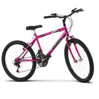 Bicicleta Ultra Aro 24 Masculina Freio V Break Chrome Line