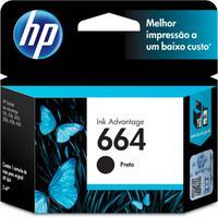 Cartucho Hp 664 Preto Deskjet Ink Advantage 1115 2136
