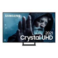Smart Tv Samsung Crystal Uhd 4k, 55au9000, Design Slim, Som Em Movimento Virtual Visual Sem Cabos 55´´
