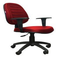 Cadeira Giratória Internauta Executiva Premium Vermelha