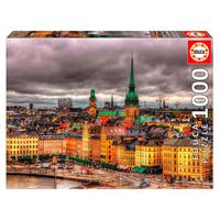 Puzzle 1000 Peças Estocolmo - Educa Importado