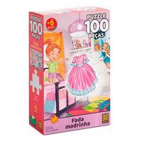 Puzzle 100 Peças Fada Madrinha