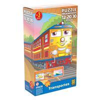 Puzzle Progressivo Transportes