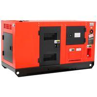 Gerador De Energia A Diesel Trifásico 110-220v 60hz Partida Elétrica Silenciado 165kva Com Qta - Nagano
