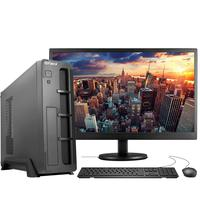 "Computador Completo Fácil Slim Intel Core I3, 8gb, Hd 500gb, Monitor 19"" Hdmi Led, Teclado E Mouse"
