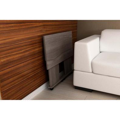 Mesa Para Computador Com Rodízio Me4117 - Tecno Mobili - Carvalho