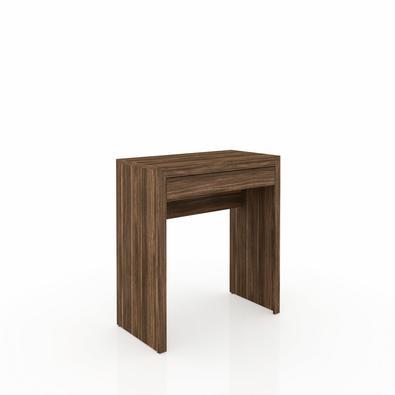 Mesa para Escritorio Me 4107 Nogal - Tecno Mobili