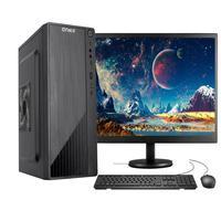 """Computador Completo Fácil Intel Core I3 10100f (décima Geração) 8gb Ddr4 Geforce Nvidia 1gb Hd 500gb Monitor 19"""" Hdmi"""