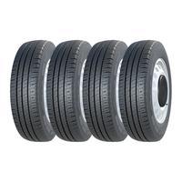 Kit 4 Pneus Michelin Aro 16 225/75r16c Agilis 118/116r