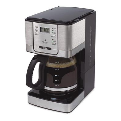 Cafeteira Flavor Programável 12 Xícaras Cinza Oster 127v - 127v
