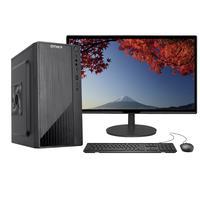 """Computador Completo Fácil Intel Core I3 10100F Décima Geração, 8GB DDR4, Geforce, SSD 240GB, Monitor 21.5"""", HDMI"""