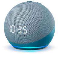 Novo Echo Dot Quarta Geração Smart Speaker Com Relógio E Alexa