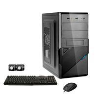 Computador Corporate I3 4gb 120gb Ssd Dvdrw Kit Multimídia