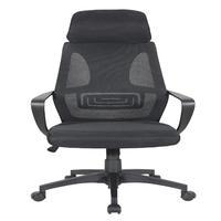 Cadeira Presidente Pel-0289 Tela Mesh Preta