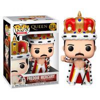 Boneco Funko Pop Rocks Queen Freddie Mercury King 184