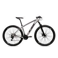 Bicicleta Alumínio Aro 29 Ksw Shimano Tz 24 Vel Ltx Krw20 - 15.5´´ - Prata/preto