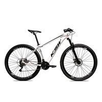 Bicicleta Alumínio Aro 29 Ksw 24 Velocidades Freio A Disco Krw16 - 15.5´´ - Branco/preto
