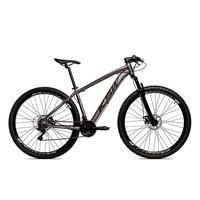 Bicicleta Alumínio Aro 29 Ksw 24 Velocidades Freio A Disco Krw16 - 17´´ - Grafite/preto Fosco