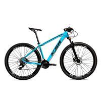 Bicicleta Alumínio Ksw Shimano Altus 24 Vel Freio Hidráulico E Suspensão Com Trava Krw18 - 19´´ - Azul/preto