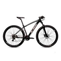Bicicleta Alum 29 Ksw Cambios Gta 27 Vel Freio Disco Hidráulica - 17´´ - Preto/prata
