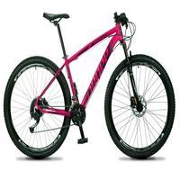 Bicicleta Aro 29 Dropp Rs1 Pro 27v Alivio, Fr. Hidra E Trava - Rosa/preto - 17