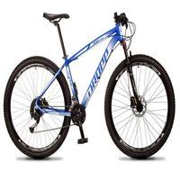 Bicicleta Aro 29 Dropp Rs1 Pro 27v Alivio, Fr. Hidra E Trava - Azul/branco - 21''
