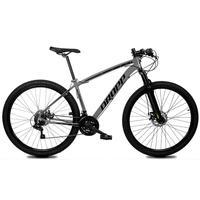 Bicicleta Aro 29 Dropp Z1x 21v Shimano, Susp E Freio A Disco - Cinza/preto - 19''