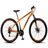 Bicicleta Aro 29 Dropp Sport 21v Suspensão E Freio A Disco - Laranja/preto - 17´´ - 17´´