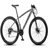 Bicicleta Aro 29 Dropp Rs1 Pro 24v Acera Freio Hidra E Trava - Cinza/preto - 21