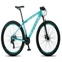 Bicicleta Aro 29 Dropp Rs1 Pro 21v Tourney Freio Disco/trava - Verde/branco - 17
