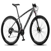 Bicicleta Aro 29 Dropp Rs1 Pro 27v Alivio, Fr. Hidra E Trava - Cinza/preto - 21''