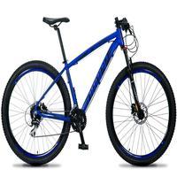 Bicicleta Aro 29 Dropp Rs1 Pro 24v Acera Freio Hidra E Trava - Azul/preto - 21''
