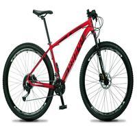 Bicicleta Aro 29 Dropp Rs1 Pro 27v Alivio, Fr. Hidra E Trava - Vermelho/preto - 19''